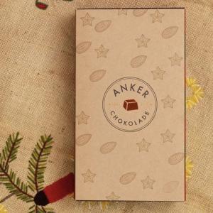 Julekalender m. øko dessertchokolader fra Anker Chokolade