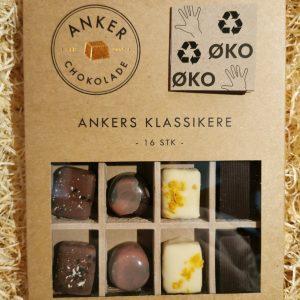 16 fyldte chokolader - Anker Chokolade