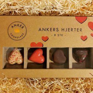 Ankers hjerter - Anker Chokolade