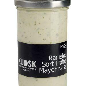 Ramsløg-sort trøffel mayonnaise - Kudsk