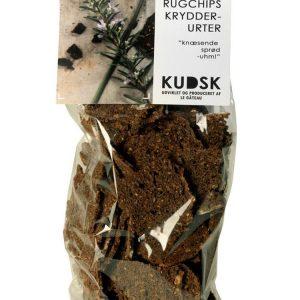 Rugchips m. krydderurter - Kudsk