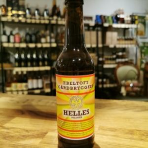 Helles Pilsner lager øl - Ebeltoft Gaardbryggeri