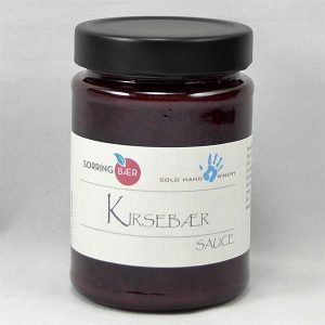Kirsebærsauce - Cold Hand Winery+Sorring bær