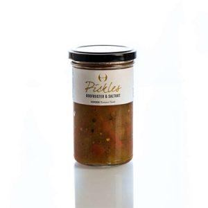 Pickles m. rodfrugter og salturt - Nordisk