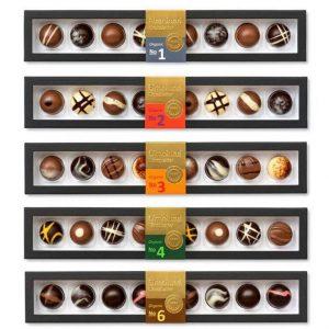 Elmelund Chocolatier Organic no. 1-6