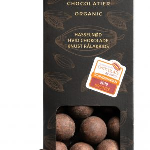 Lakrids drageer m. hvid chokolade og hasselnød
