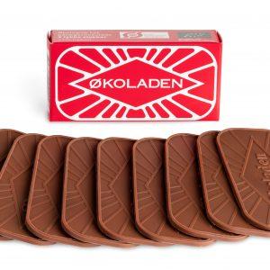 Økologisk lys pålægschokolade - Økoladen