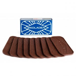 Økologisk mørk pålægschokolade - Økoladen