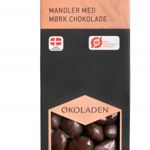 Økologisk mandler med mørk chokolade - Økoladen